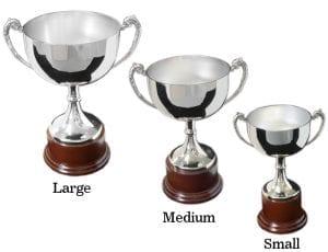 Oakleigh Trophy - Wood Base