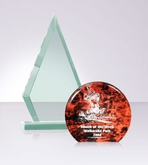 Coloured Acrylic Awards