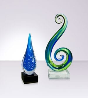 Koru and Coloured Glass Awards